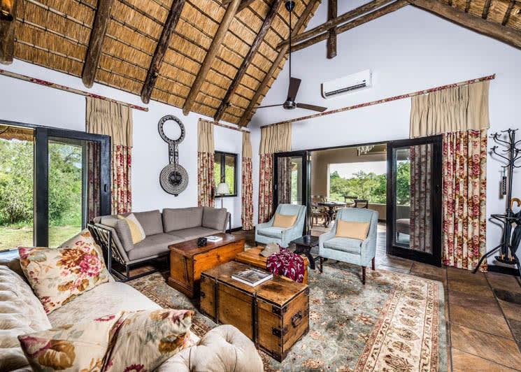 Sabi Sabi Selati Camp Ivory Suite Lounge