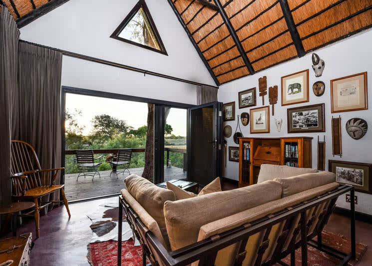 Sabi Sabi Selati Camp Lourenco Suite Lounge