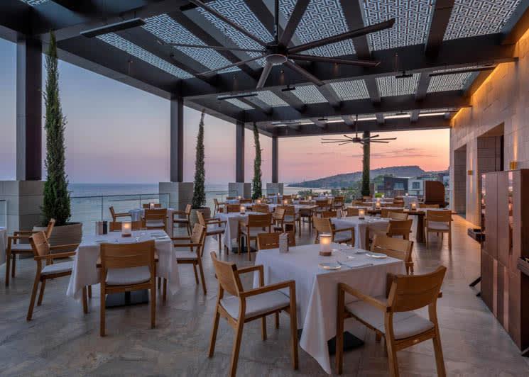Amara Limassol The Ristorante Locatelli Terrace