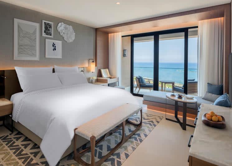 Amara Limassol Deluxe King Bedroom