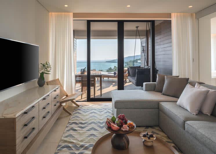 Amara Limassol Junior Suite Living Room