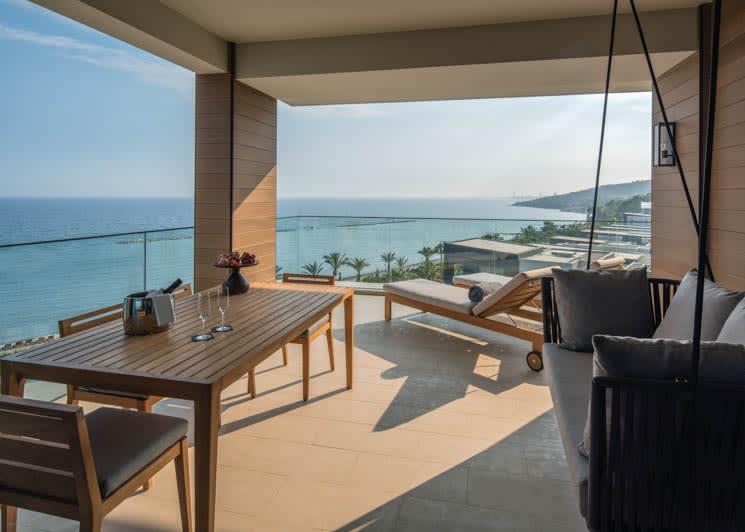 Amara Limassol Junior Suite Terrace