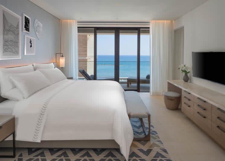 Amara Limassol Junior Suite Bedroom