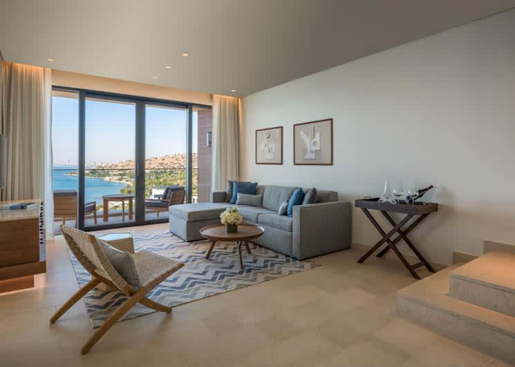 Amara Limassol Duplex Roof Top Living Room