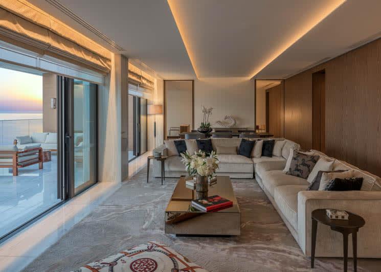 Amara Limassol The Amara Suite Living Room