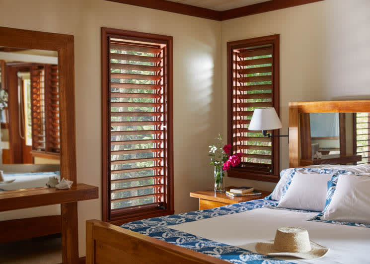 GoldenEye Beach Villa Bedroom