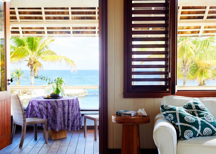 GoldenEye Beach Villa Terrace