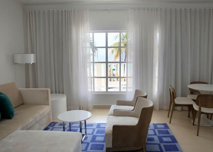 Azul Beach Resort Negril Two Bedroom Suite Living Room