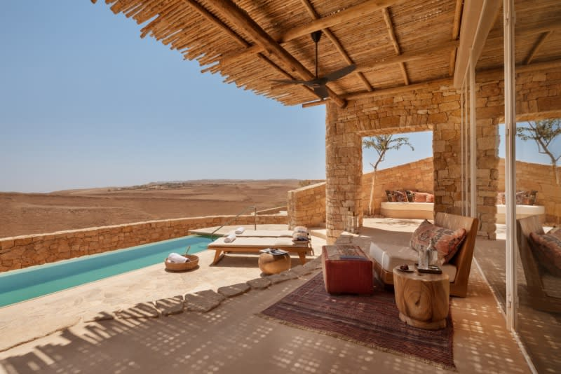 Panorama Pool Villa outdoor terrace