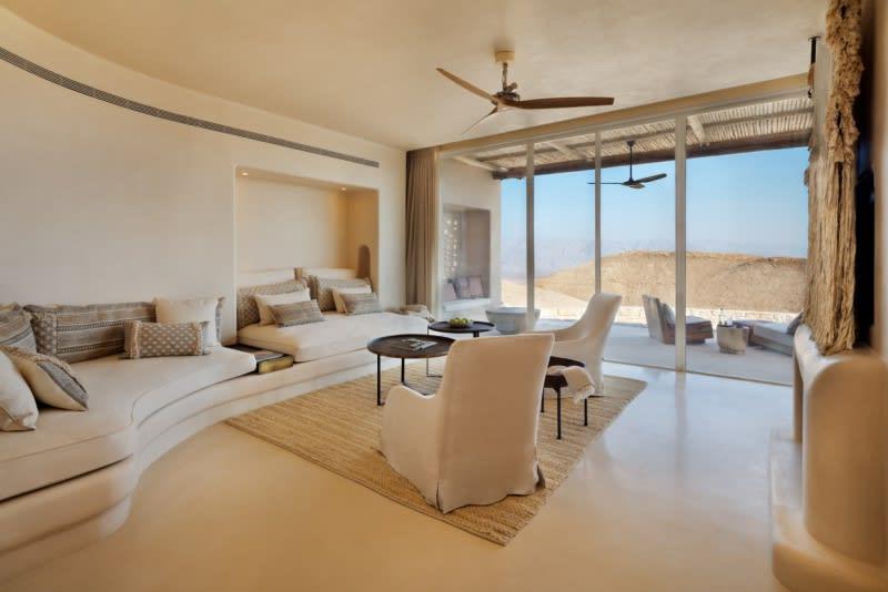 Panorama Pool Villa living room