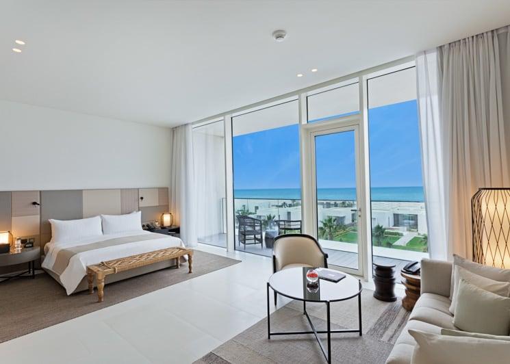 The Oberoi Al Zorah Premier Room Terrace