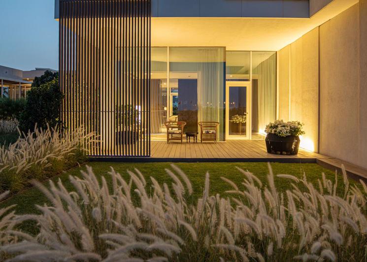 The Oberoi Al Zorah Deluxe Suite Garden Terrace