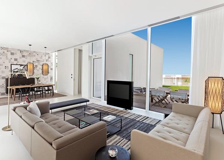 The Oberoi Al Zorah Premium Three Bedroom Villa Lounge
