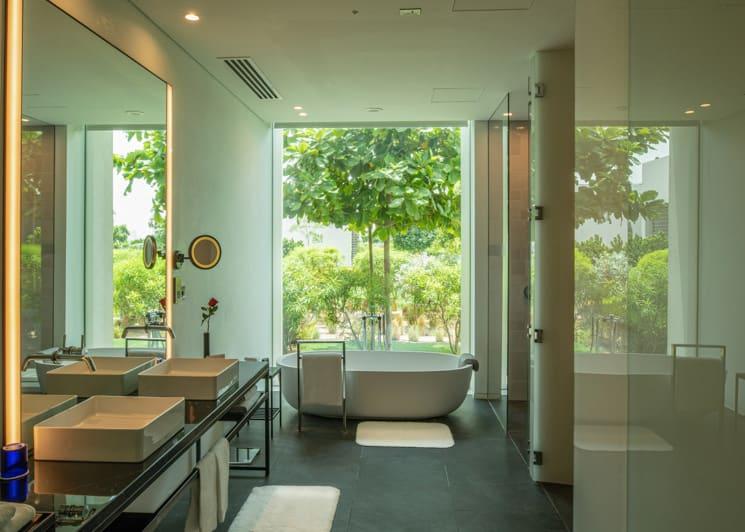 The Oberoi Al Zorah Premium Three Bedroom Villa Bathroom