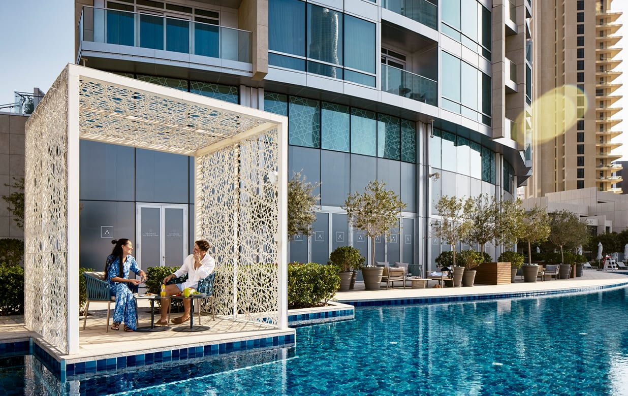 The Pool Lounge at Address Fountain Views