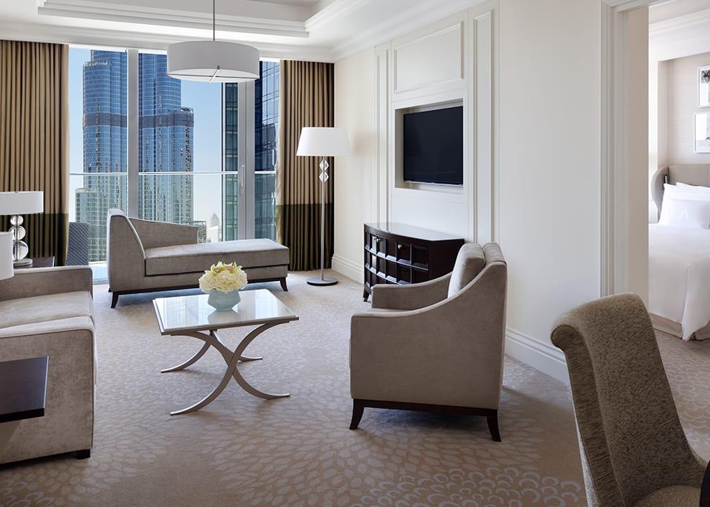 Boulevard Suite living area