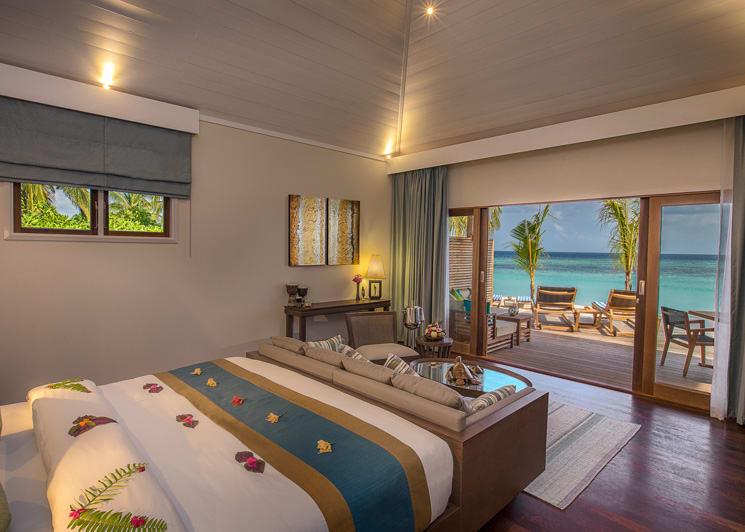 Hurawalhi Maldives Beach Villa Interior