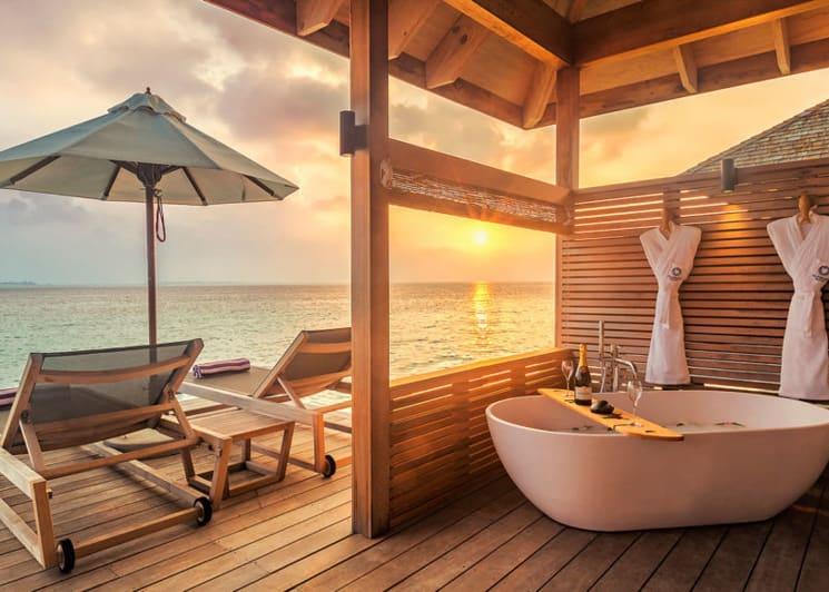Hurawalhi Maldives Romantic Ocean Villa Terrace
