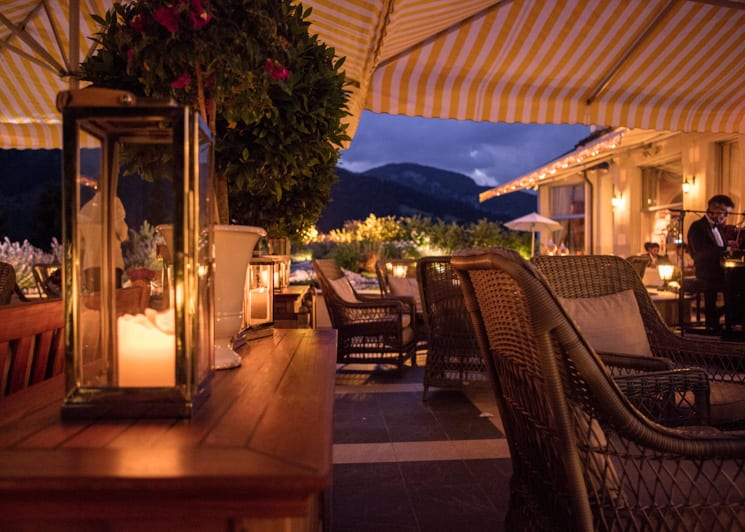 Gstaad Palace Terrace