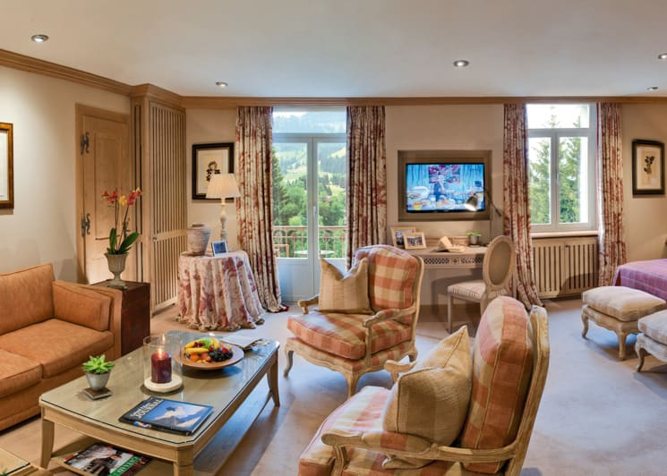 Gstaad Palace Deluxe Junior Suite Mountain View