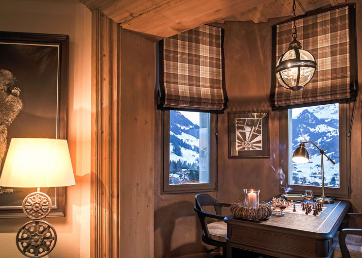Gstaad Palace Tower Two Bedroom Suite Sitting Corner