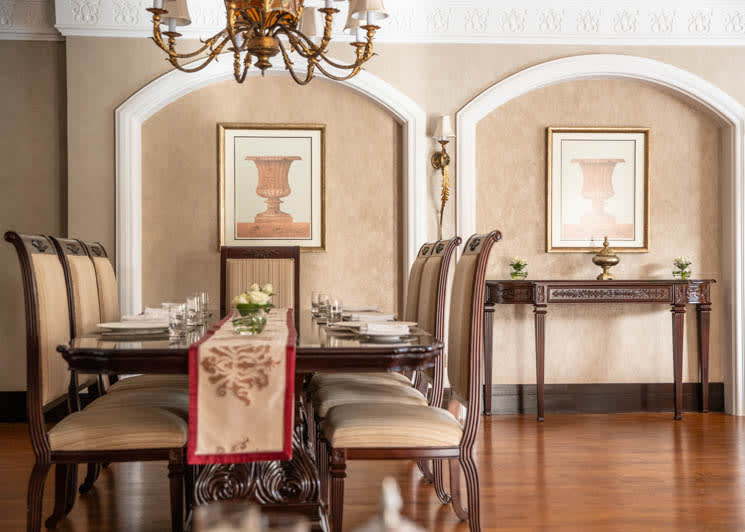 Royal Residence dining