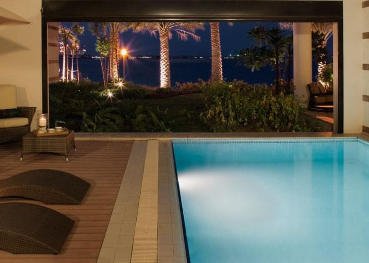 Jumeirah zabeel saray beach residences private pool