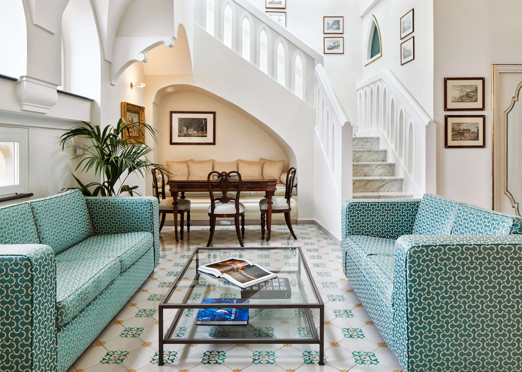 Infinito Suite Living Area