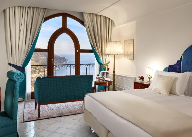 Deluxe sea view Room with French Balcony