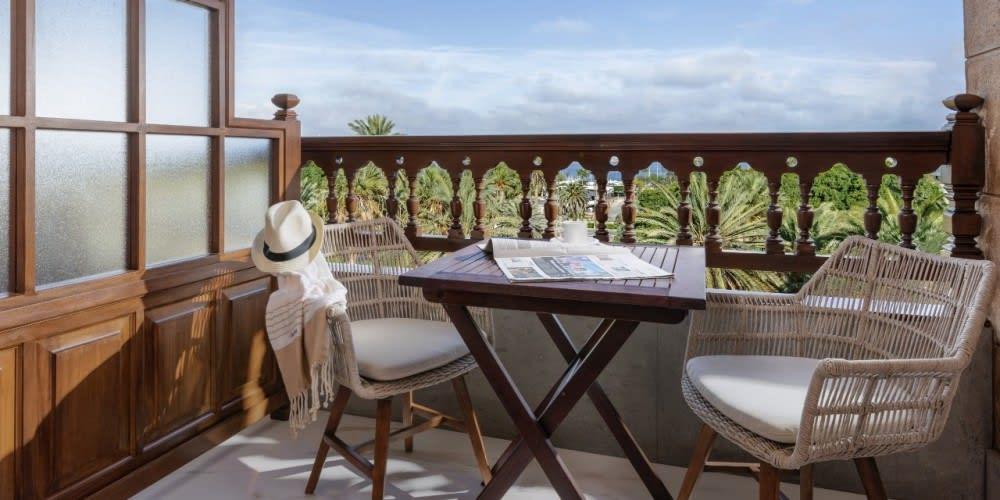 Deluxe Superior balcony