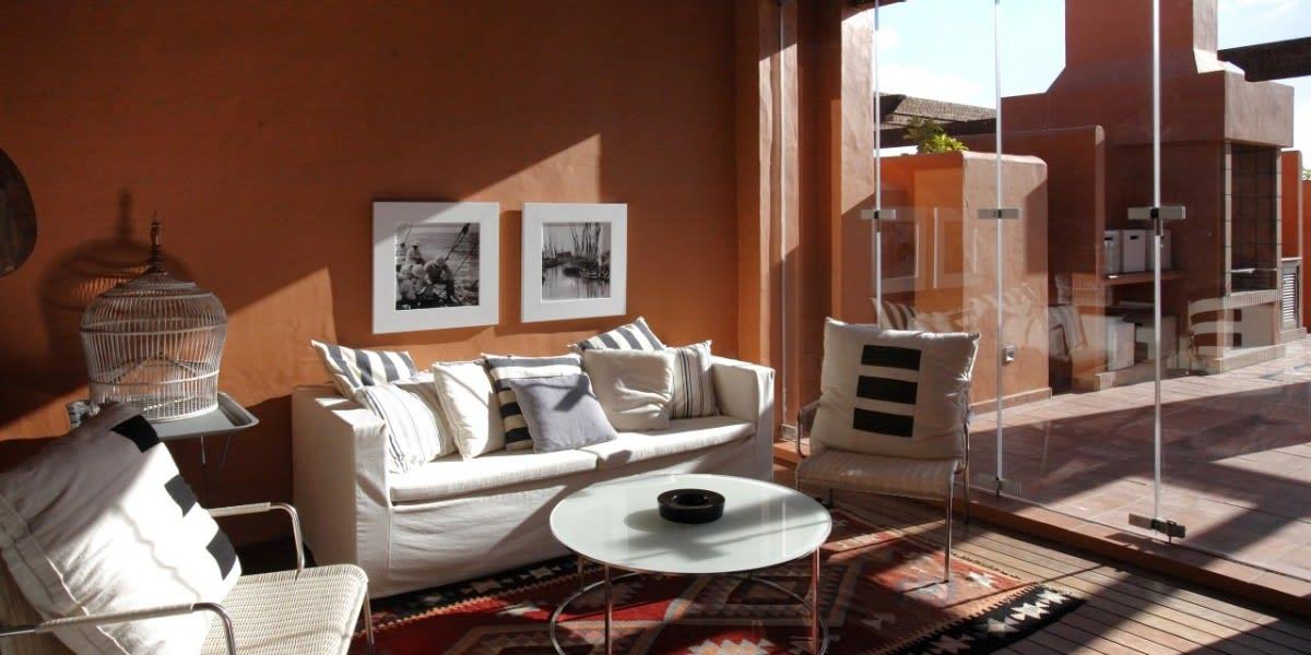 Suite Vanguardian living area