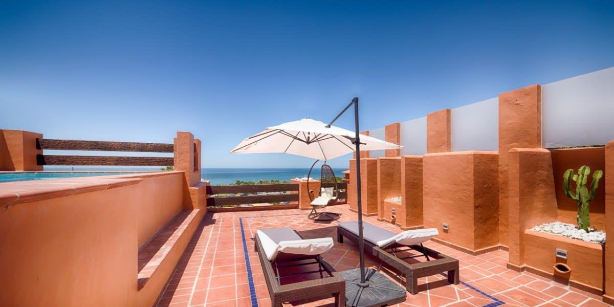 Suite Presidential private terrace