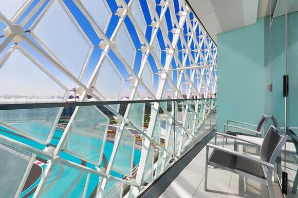 Wonderful room balcony