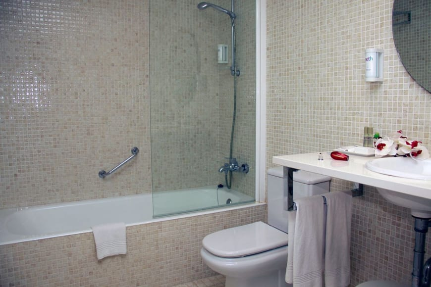 Standard DR bathroom