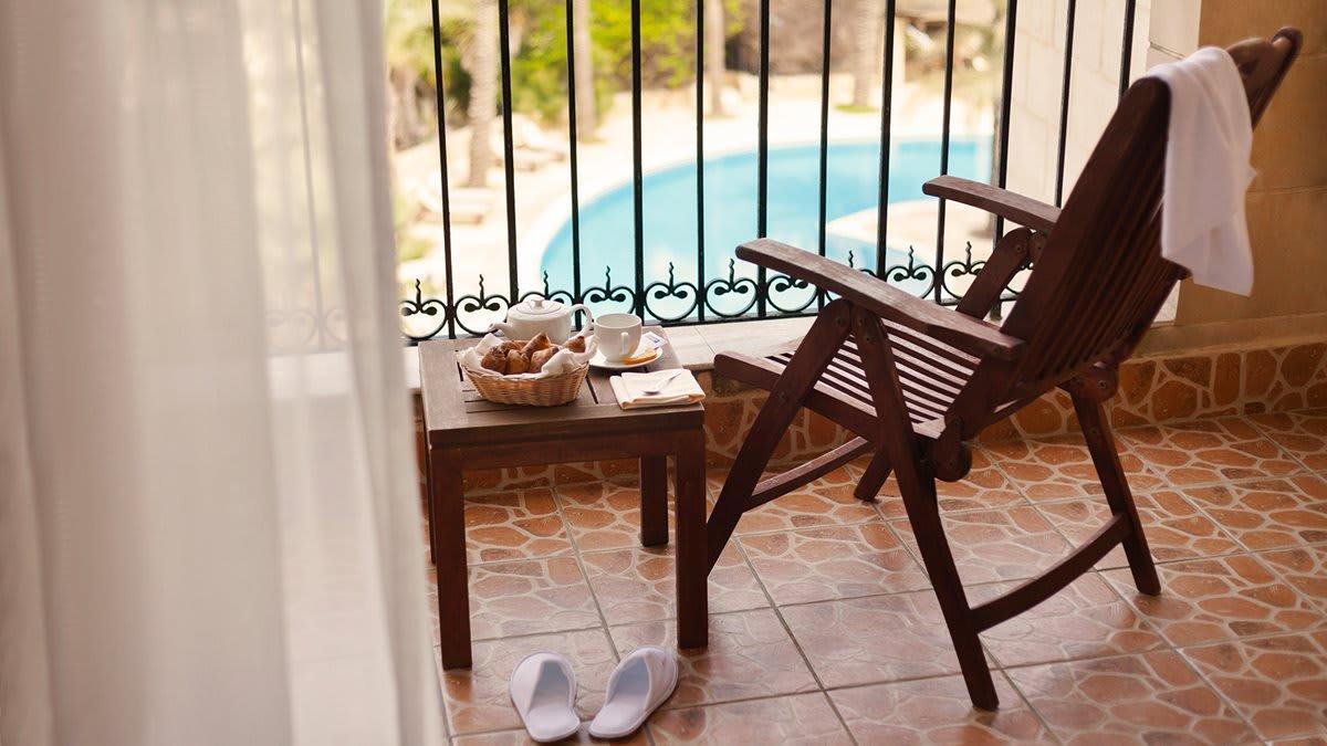 Deluxe junior suite terrace