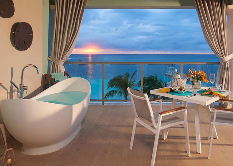 Beachfront honeymoon