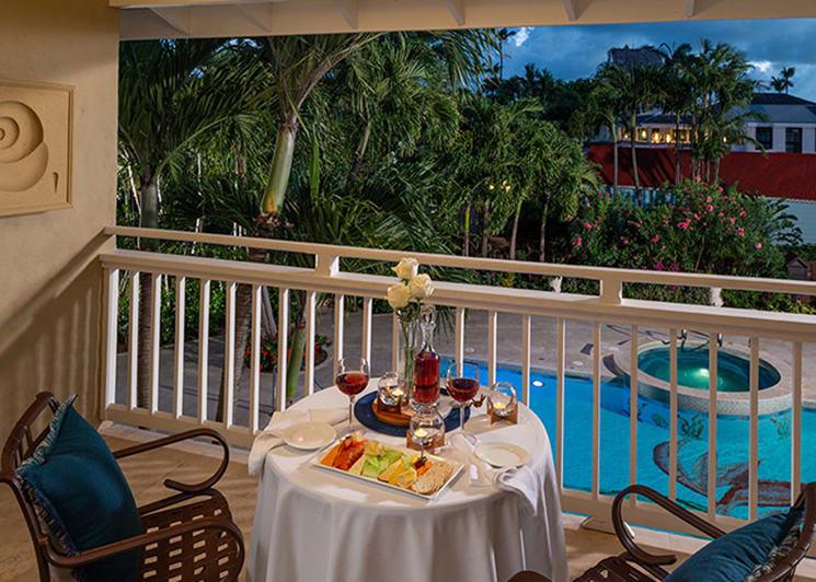 Caribbean Grande Luxe Poolside Room Balcony
