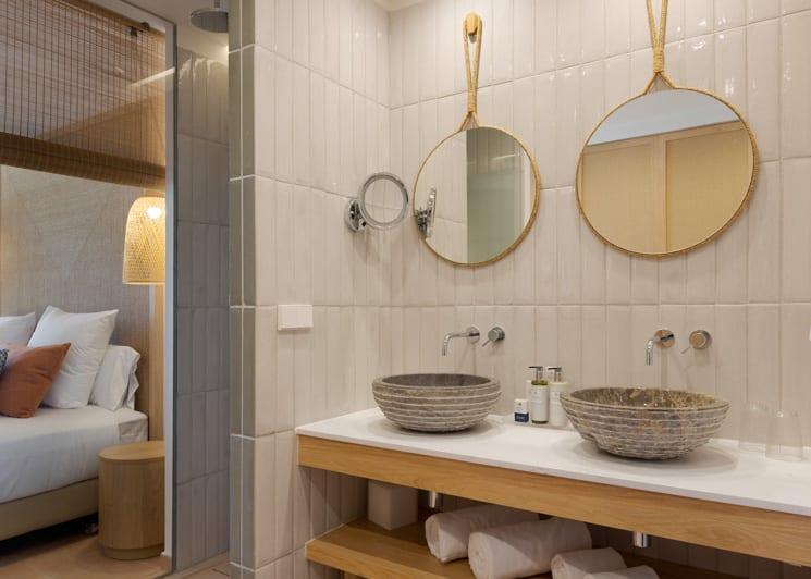 Double Room With Garden View Bathroom