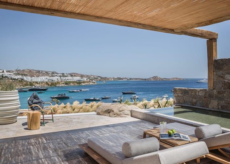Vista suite sea view