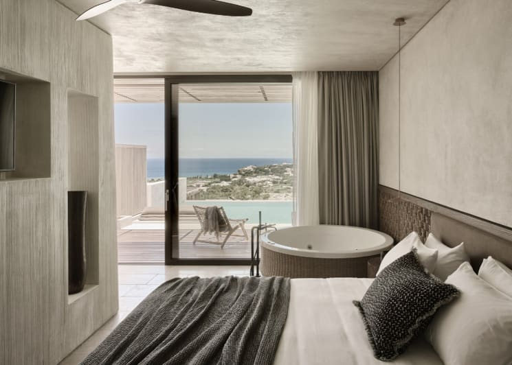 Honeymoon Private Pool Suite