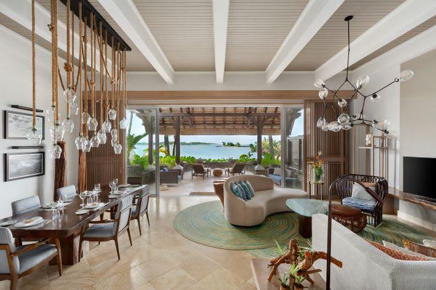 Shangri La One Bedroom Suite Living Area