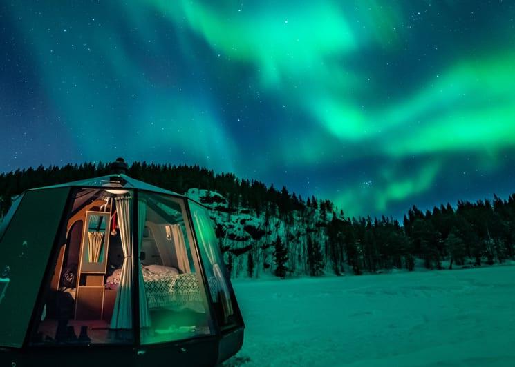 Lake Inari Aurora hut