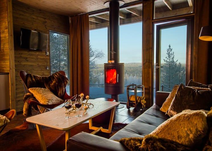 Arctic GlassHouse Lounge Area