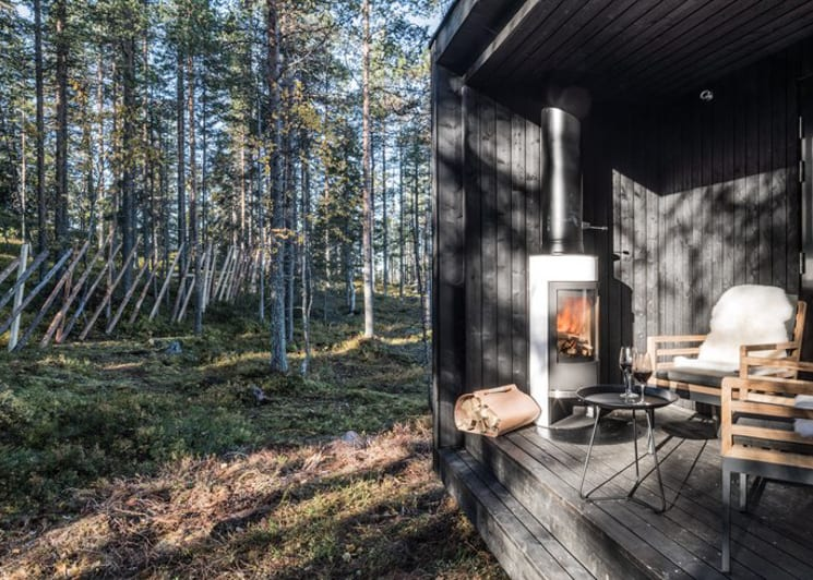 Arctic Scene Executive Suite Terrace