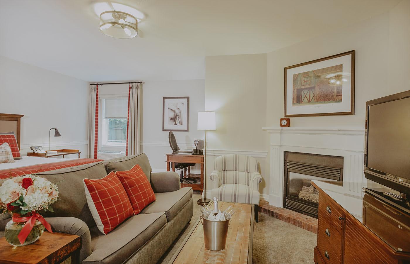 Premium Room Sitting Area
