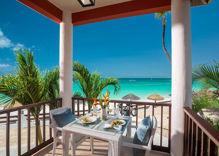Caribbean Honeymoon Beachfront Butler Suite OHS