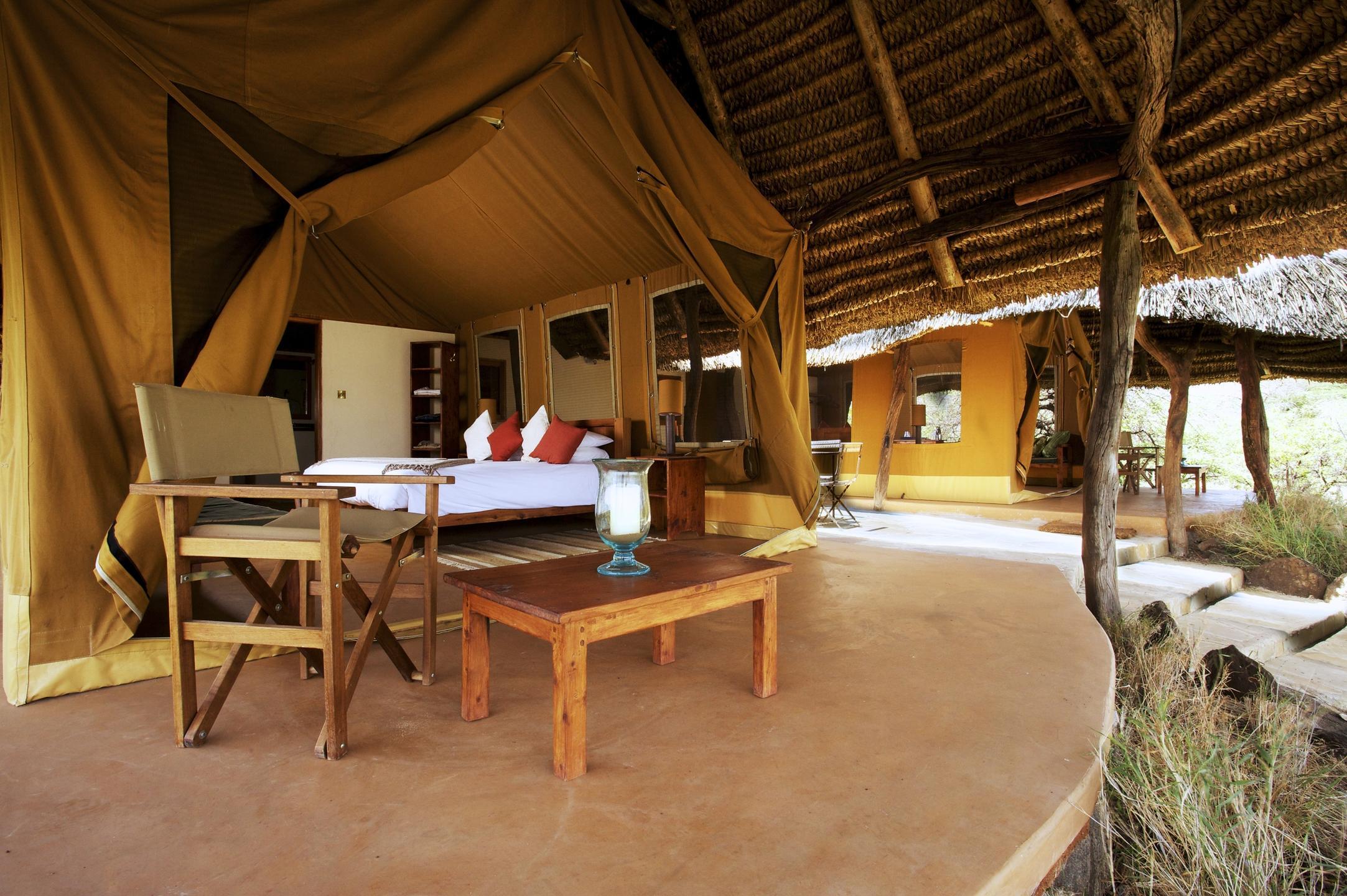 Luxury Family Tent Interior
