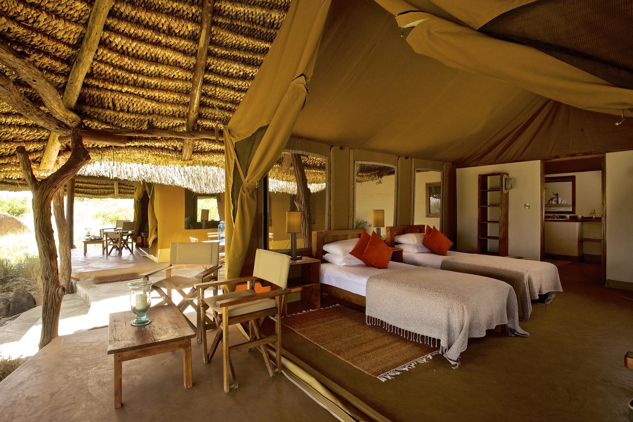 Luxury Family Tent Twin Room