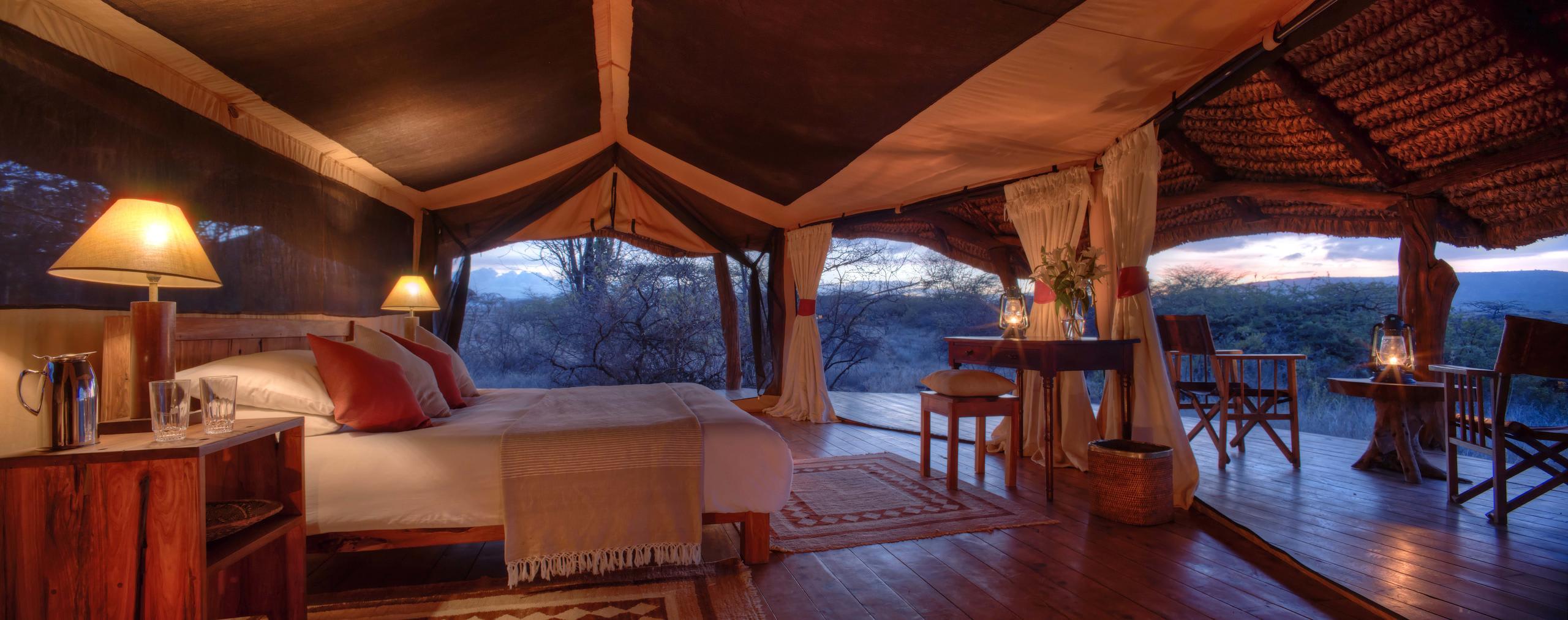 Luxury Safari Tent Interior