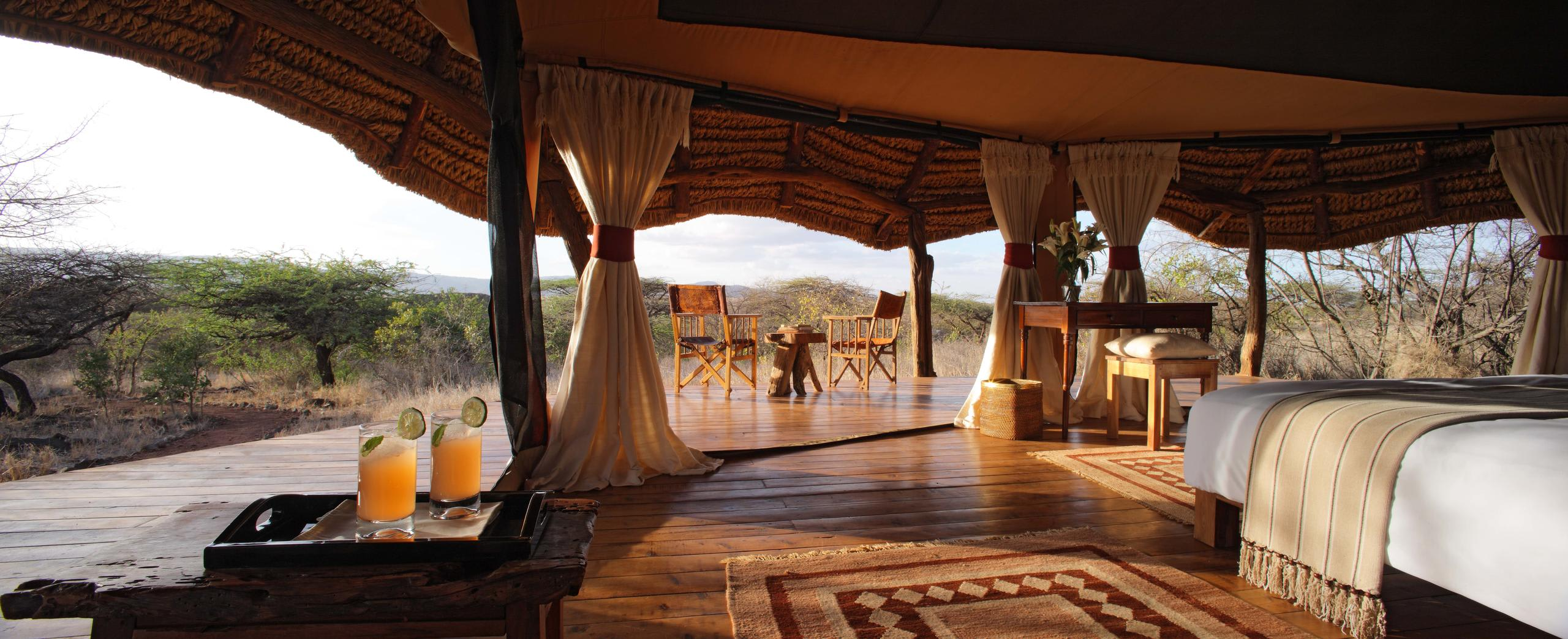 Luxury Safari Tent with view